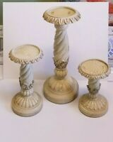 Pillar Candle Holder Set of three