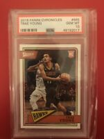 2018 Panini Chronicles Trae Young ROOKIE RC #665 PSA 10 GEM MINT