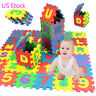 36Pcs Baby Child Study Number Alphabet Puzzle Foam Maths Educational Toy Gift