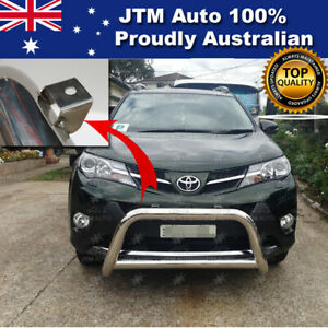 """Nudge Bar 3"""" Stainless Steel Grille Guard Suitable For Toyota Rav4 2013-2018"""