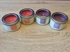 4 x The Orignal Candle Co Tins. Exotic Mango & Vanilla Orchid. Home Fragrance.