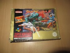 STREET FIGHTER 2 SNES SUPER NINTENDO - BOXED PAL VERSION