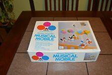 Vintage Disney Babies Musical Mobile No. 641 1984 w/box *Tested*