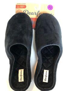 New Women's Soft Slip On Dearfoams Slippers - Extra Large XL US 11-12