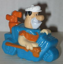 "Flintstones Fred Flintstone Golf Cart Rolling Stamper 2.25"""