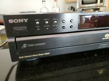 🔥 Sony SCD-CE595 5-Disc CD Super Audio CD Player Carousel NORemote • Working