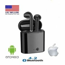 Bluetooth Wireless Headset i7s Tws Earbuds Twins In Ear Earphone w Charger Box
