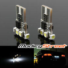2 x 194/168/T10/W5W WHITE 6 3528-SMD CAN-BUS LED LICENSE/SIDE MARKER/DOME LIGHTS