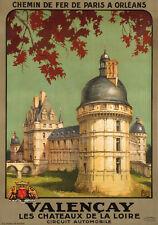 Original Art Deco Travel Poster - Alo - Valencay - Loire Valley - 1926