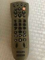 Philips REM212 4-Device Universal Remote Control for TV VCR Cable AUX