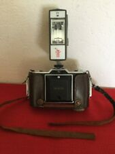 VTG Rare ZEISS IKON IKONTA Pronto Novar Anastigmat 35mm Camera W Coastar Flash
