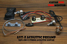 TONE MONSTER AVT-F Acoustic Preamp Guitar SAP UST Under Saddle Transducer Pickup