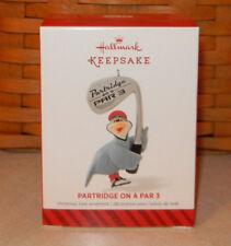 Hallmark 2014 Christmas Ornament ~ Partridge On A Par 3 ~ New Golf