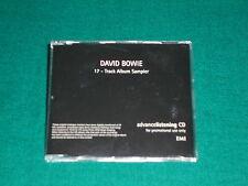 David Bowie – 17 - Track Album Sampler