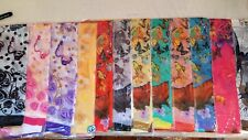 Joblot 24 pcs Butterfly & Flower design chiffon scarf wholesale 50x160 cm Lot 12