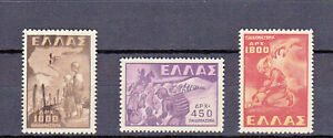 Greece 1949 Children Abduction complete set MNH