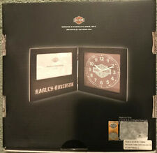 OFFICIAL HARLEY DAVIDSON CLOCK W/ PICTURE FRAME