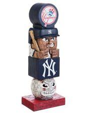 New York Yankees NY Tiki Tiki Totem Statue Figurine MLB Baseball Mascot