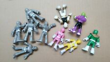 LOT of 10 POWER RANGERS ~ Mighty Morphin SCG Toy Figures or Cake Toppers