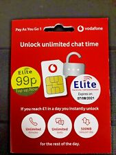 NEW Vodafone Sim Card
