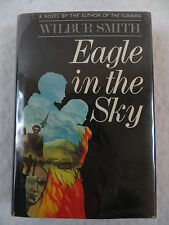 Wilbur Smith EAGLE IN THE SKY Doubleday 1974 1st US Edition