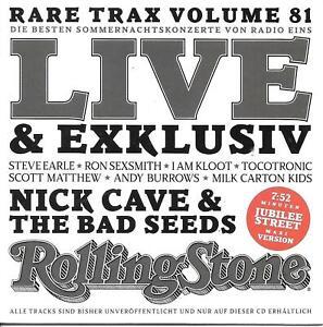 Rolling Stone Rare Trax Vol. 81 - Sommernachtskonzerte (Papersleeve) Topzustand!