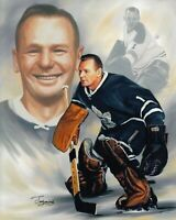Johnny Bower Toronto Maple Leafs Unsigned 8x10 Photo