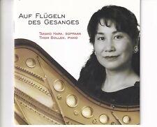CD TAKAKO HARA / THOM BOLLENauf flugeln des gesangesEX+ (A6195)