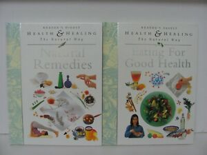 Reader's Digest Health & Healing The Natural Way Hardcover Books x 2