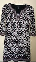 NWOT Womens White House Black Market Lined Stretchy Dress Size XXS