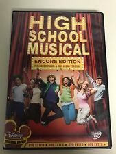 High School Musical (DVD, 2006, Encore Edition)