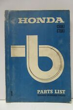 VINTAGE HONDA C50KI C70KI MAINTENANCE MANUAL PARTS WORKSHOP BOOK 1971 JAPAN