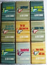 LOT 9 Vintage James Bond Ian Fleming BCE Goldfinger Thunderball Dr. No HB/DJ