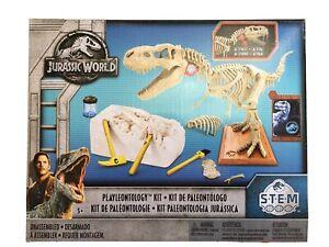 Jurassic World Stem Playleontology Kit FTF12 T-Rex Educational Science Toy New