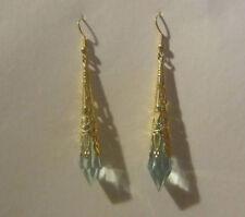 Unbranded Hook Turquoise Acrylic Costume Earrings
