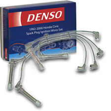 Denso Spark Plug Ignition Wires Set for Honda Civic 1.6L 1.5L L4 1992-2000 hn