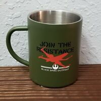 Disney Parks Star Wars Galaxy's Edge Black Spire Outpost Aluminum Mug Resistance