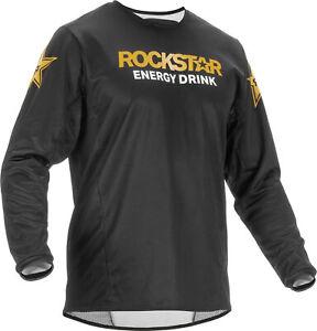 Fly Racing 2020 Kinetic Rockstar Jersey 2XL Black/Gold