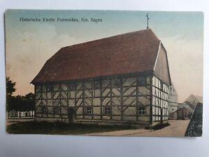 AK Freiwaldau Kreis Sagan Gozdnica Historische Kirche