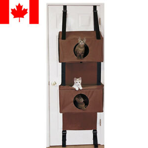 Sortwise® Door Hanging Cat Condo Hammock Kitten Cat Cube Sleeping Play Cat House
