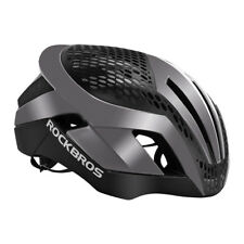 RockBros Road Bike Cycling Helmet 57cm-62cm Integrally Helmet 3 in 1 Ti Color