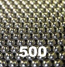 500 Qty 3/8 Inch Steel Shot Slingshot Ammo Balls