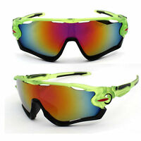 Ski Snowboard Sunglasses Green Yellow Clear Black Snow Board Helmet Sun Glasses