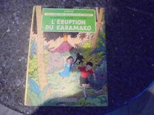 belle reedition jo zette et jocko l'eruption du karamako 1965  b35 bis