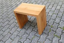 Designer Hocker aus Eiche massiv Holz Sitzhocker NEU Stuhl Sitzbank Couchtisch