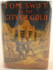 Victor Appleton Tom Swift in the City of Gold c. 1912  Later Printing DJ