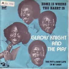"7"" 45 TOURS BELGIQUE GLADYS KNIGHT & PIPS ""Home Is Where The Heart Is +1"" 1977"