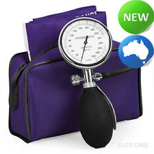 elitecare® - Single Hand Sphygmomanometer BP for Nurses - Purple