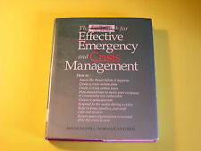 The Handbook for Effective Emergency and Crisis Management Nudell Action Plan