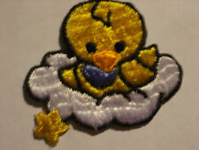 BABY CHICK ON CLOUD EMBROIDERY APPLIQUE PATCH EMBLEM LOT (24 DOZEN)